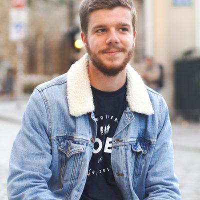 Hopen T shirt bleu 2018